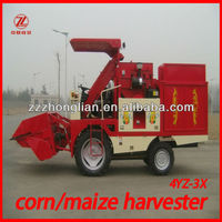 4YZ-3X corn combine harvester and silage harvester machine