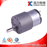 Diameter 37mm Electric Motor Gearbox ,DC Small Wheelchair Motor Gearbox 12v 24v ,Motor Gearbox Big Torque