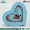 Heart shape table alarm clock for promotion , clock company