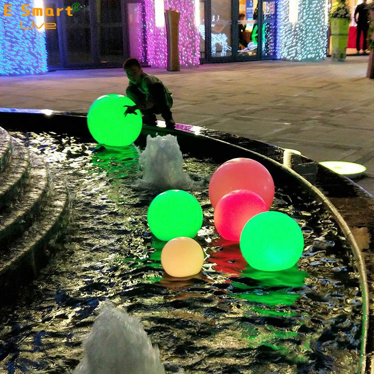New product!!Shenzhen cheap color changing waterproof floating led light ball led ball led swimming pool ball