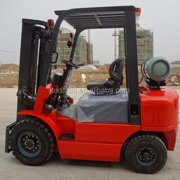 CNG Gas Engine Power Souce and Powered Pallet Truck Type 3t LPG forklift