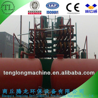 TL Environmental friendly waste plastic/tyre pyrolysis plant/waste tyre recycling machine to oil great quality