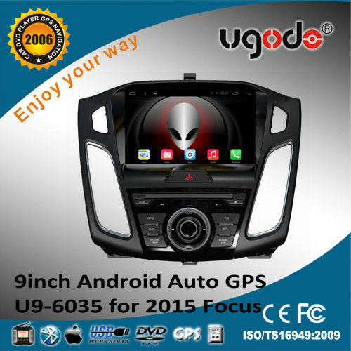 Android 4.4.2 quad core 9 inch HD screen for 2015 Ford focus dvd player with gps navigation ,bluetooth