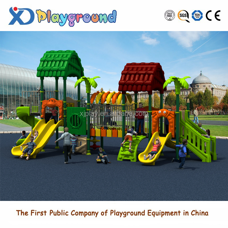 Amusement park children toys outdoor playground slide for kids