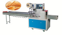bread horizontal flow packing machine with high speed