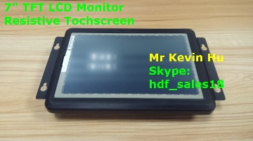"HDF 7"" 800x480 raspberry pi touch screen hd mi monitor wide temperature range, support win ce & android system"