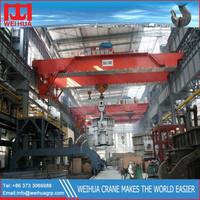 QDY Model 32t Hanger Bridge Steel Casting Crane
