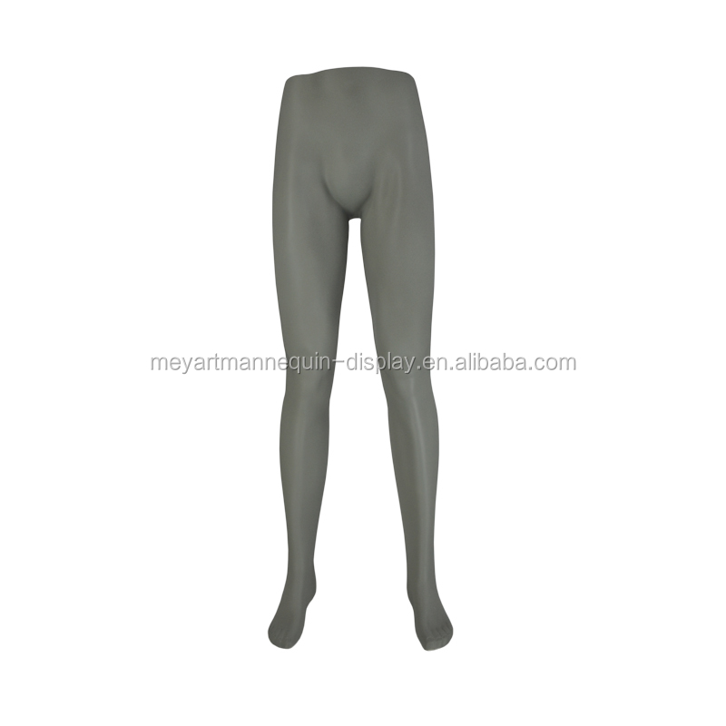 Store male mannequin legs, strong lower body, trousers display legs