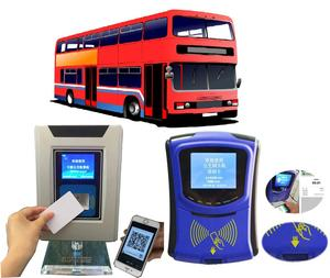 Onboard Bus Ticket Terminal Validator RFID Reader Payment System For Fare Collection Payment System