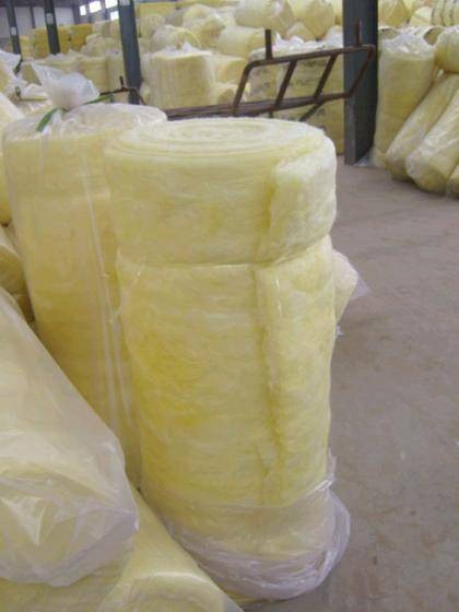 R2.0 Glasswool Insulation Batts Roof Material , Fire Retardant Insulation Batts
