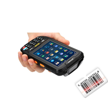 4G LET mobile Touch Screen Rugged Industrial Android Handheld Qr Code Laser Barcode Scanner PDA NFC RFID Reader data collector