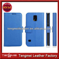 High Quality Genuine Leather Cell Phone Case For Samsung Galaxy S5