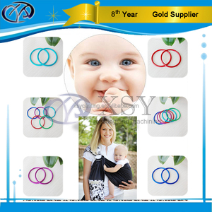 baby carrier anodized aluminum ring sling ring
