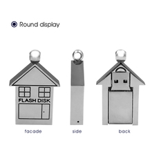 Wholesale creative custom Metal key ring USB flsh drive gift with laser engraved logo