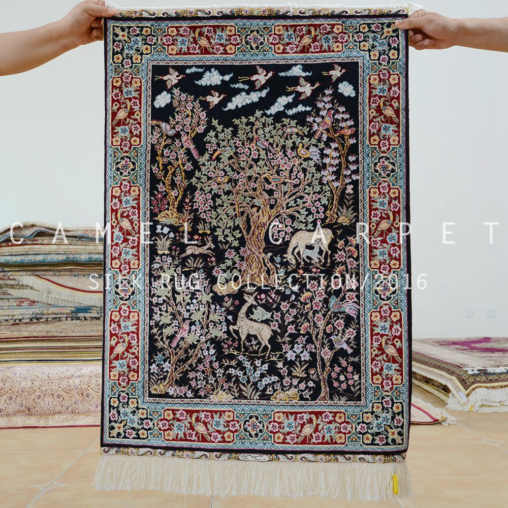 Islamic Wall Hangings islamic wall hanging carpets hand knotted 2'x3' chinese silk rugs