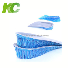 Honeycomb Shape Half Silicone Height Increase Body Cushion Insoles