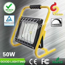 Goodlighting portable emergency vehicle lighting 50w rechargeable led magnetic work light