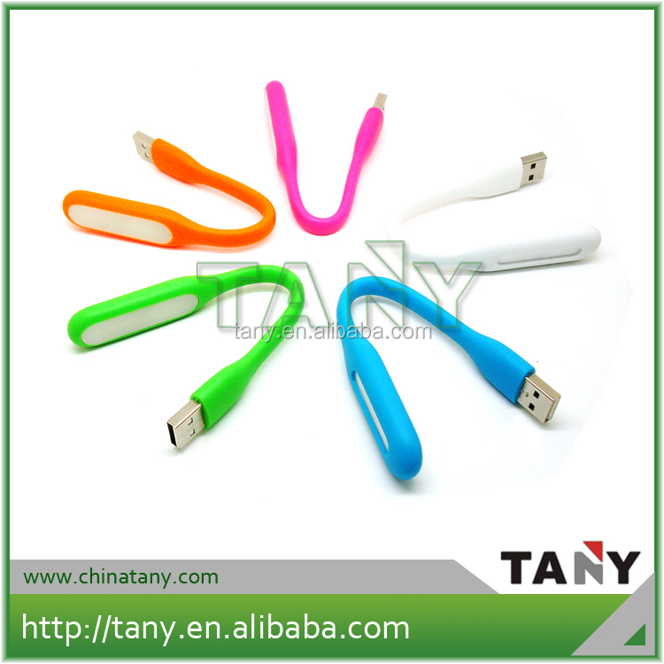Portable flexible Micro USB Light for Laptop or power bank