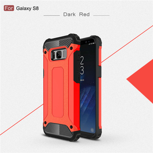 Multi Color 2 In 1 Hybrid Rugged Mobile Back Cover Case For Samsung Galaxy S8 Plus