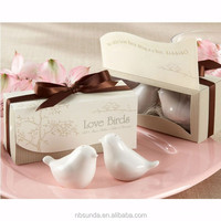Wholesale Love birds Wedding Favors Salt and Pepper Shaker