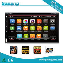 Android 6.0 2 din universal car dvd player dengan 3g & wifi