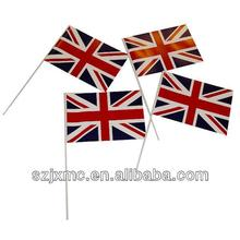 Union Jack paper national flags