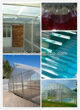uv pc Corrugated sheet; solar corrugated polycarbonate sheet for roofing