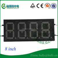 Small size dot matrix led oil price sign