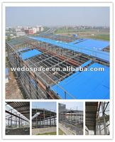 Pre-fabricated Light Steel Structural Construction Company