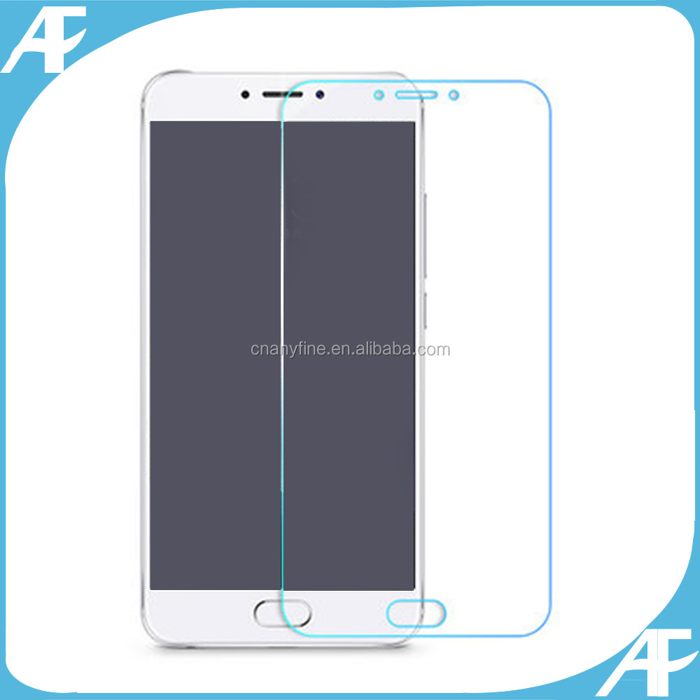 Tempered Glass Screen Protector For MEIZU MX6 Premium 9H With Retail Packing Bag