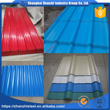China Alibaba Prepainted Ribbed Roofing Panels