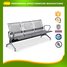Custom china style stainless steel three seater waiting chairs for sale