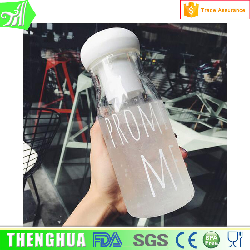 Green tea Plastic milk jug water bottle
