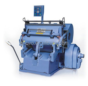 High Speed Die Cutting Machine/Die Cutting and Creasing Machine for paper die cutter