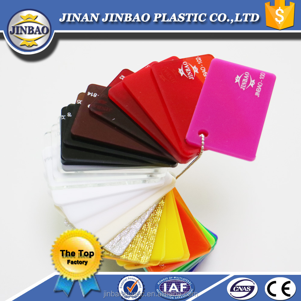 JInbao high gloss 4x6ft acrylic display board 3mm clear perspex