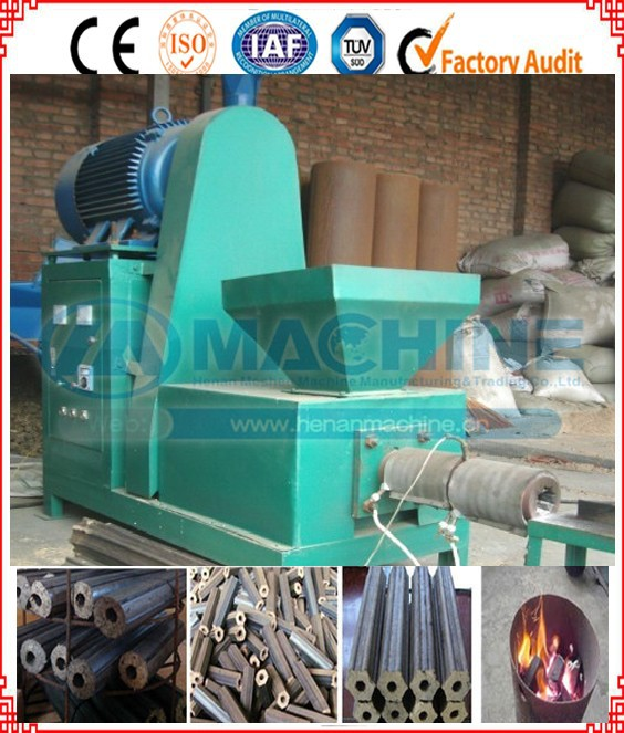 friendly maintenance and factory provide wood/biomass briquette extruder machine