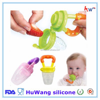 Food grade baby silicone feeding tool with dummy pacifier
