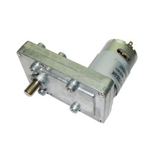 12V 24V DC electric gear motor Low Speed High Torque 50kgf.cm