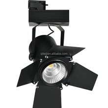1wires 2 wires 3 wires 20w 30w 50w dimmable led track light with 5 years warranty track ficture