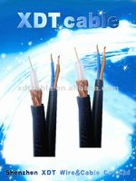 Competitive Price with Combine Cable Radio Cable RG59 Power Coaxial Cable