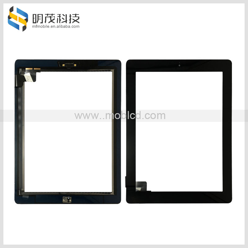20pcs/lot China wholesale for iPad2 touch ;front glass panel screen touch digitizer replacement for apple iPad 2