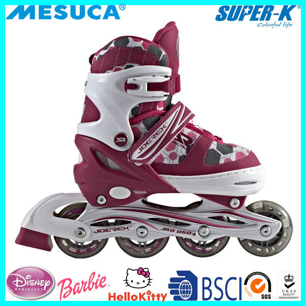 China Manufacture Wholesale Mesuca Adjustable Inline Skate SRO0802-S/M/L