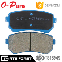 OE 58302-1GA00 Auto Spare Parts Wholesale Price Genuine Korean Car Rear Disc Brake Pads Manufacturers For Accent GDB3421