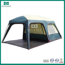Outdoor camping family 6 person tent with kitchen for camping