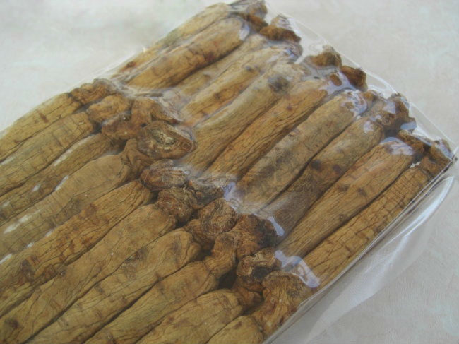 Changbai mountain ginseng/bulk ginseng/raw ginseng
