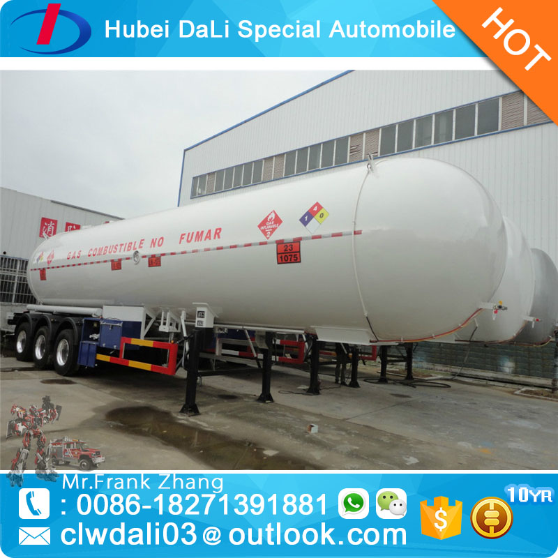 45000 liter BPW axles gas trailers