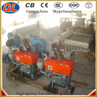 China Made double roller bast fibre tearing machine