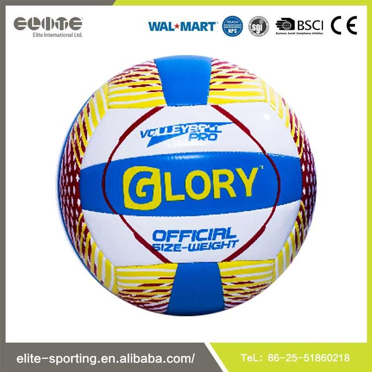 Classic Design official Size Weight Rubber Bladder Volleyball