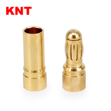 Gold plated Bullet Connector 3.5mm banana plug for ESC battery and motors