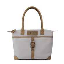 Trendy Vintage Style Canvas & Leather Hobo Bag for Men